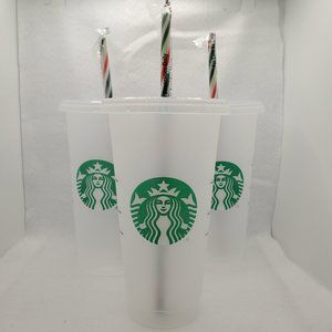COPY - 3 Starbucks Reusable Cups